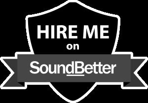 Hire me on SoundBetter